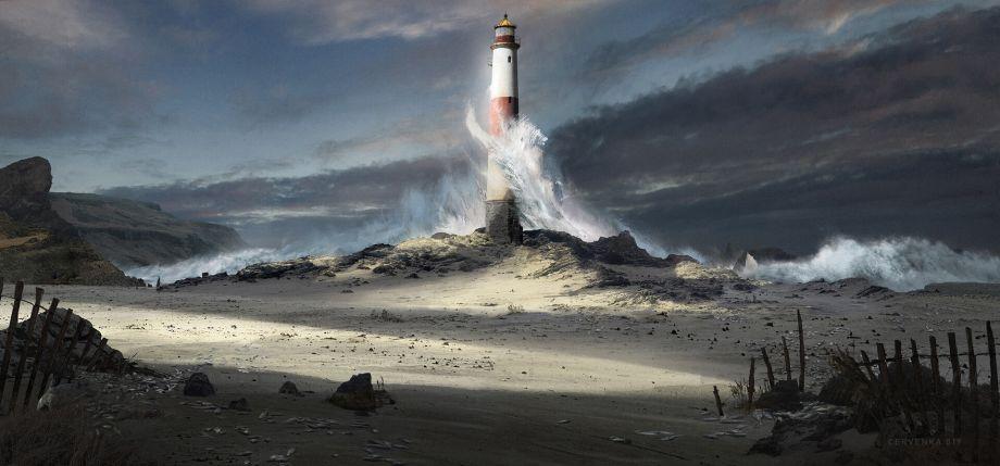 Agancg_UE4_Lighthouse_photo01