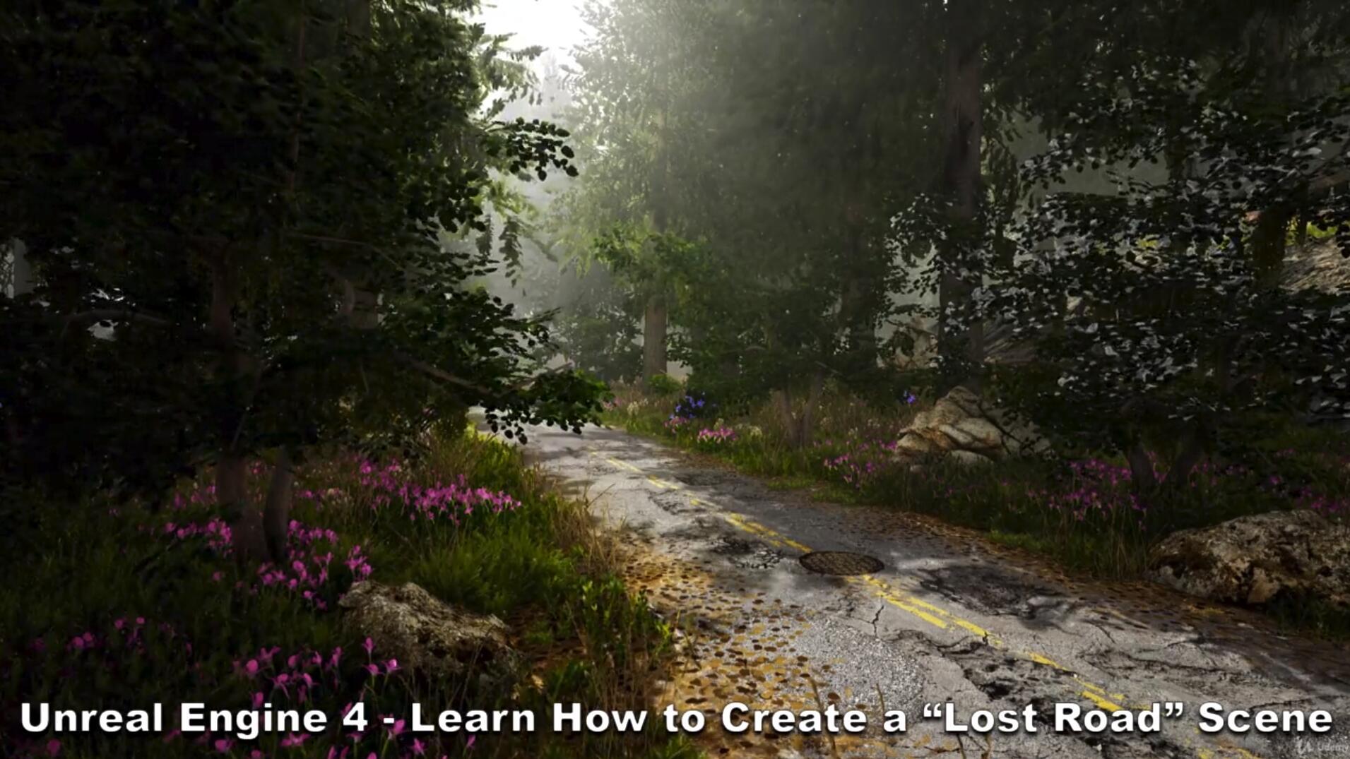 agancg_UE4教程_Lost-Road_scene_index