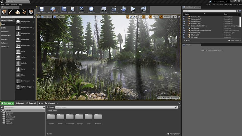agancg_UE4教程_create-a-Natural-Scene_photo