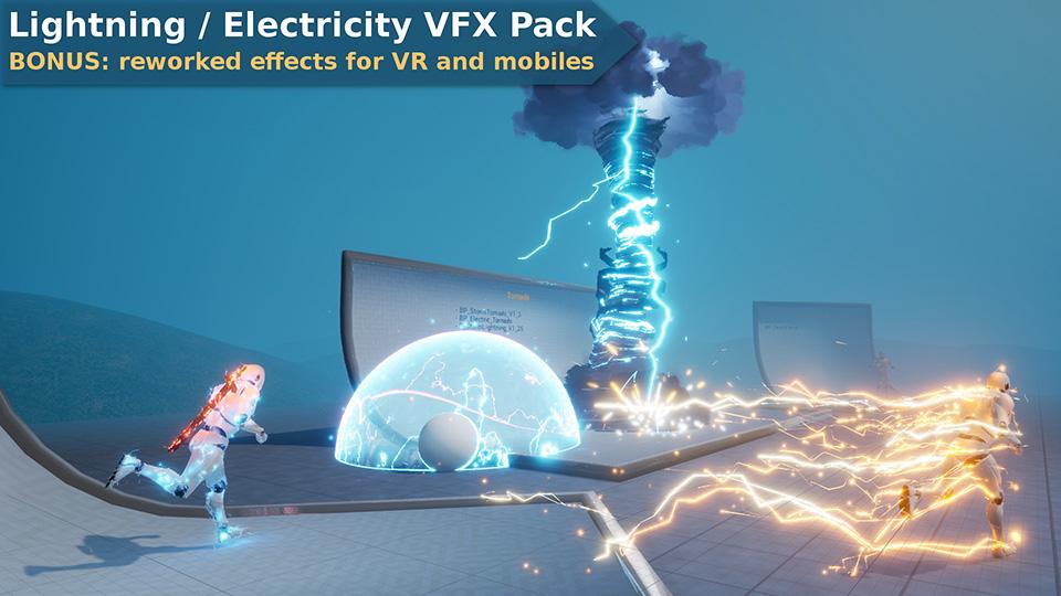 Agancg_UE4_Lightning-Electricity-VFX-Pack01