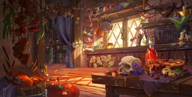 Agancg_UE4_Stylized-Witch-Hut-Interior06