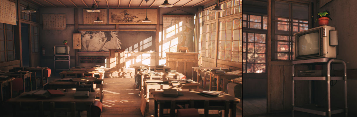 Agancg_UE4_tutorial_Old-Japanese-Classroom01