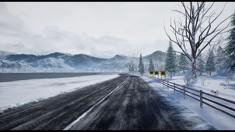 "Agancg_UE4_""Racing-Track""-Winter-Landscape01"
