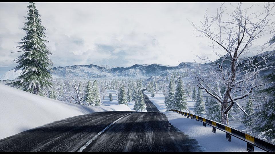 "Agancg_UE4_""Racing-Track""-Winter-Landscape02"