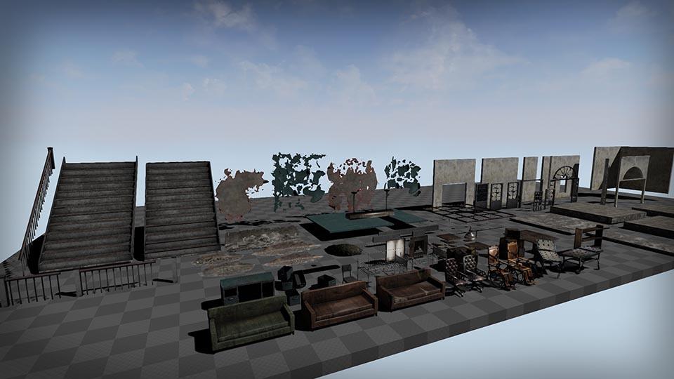 Agancg_UE4_Abandoned-Hospital-Pack02
