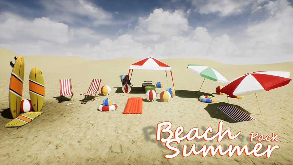 Agancg_UE4_Beach-Summer-Pack01