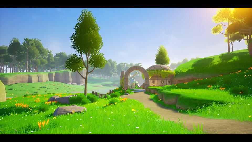 Agancg_UE4_Stylized-Landscape02
