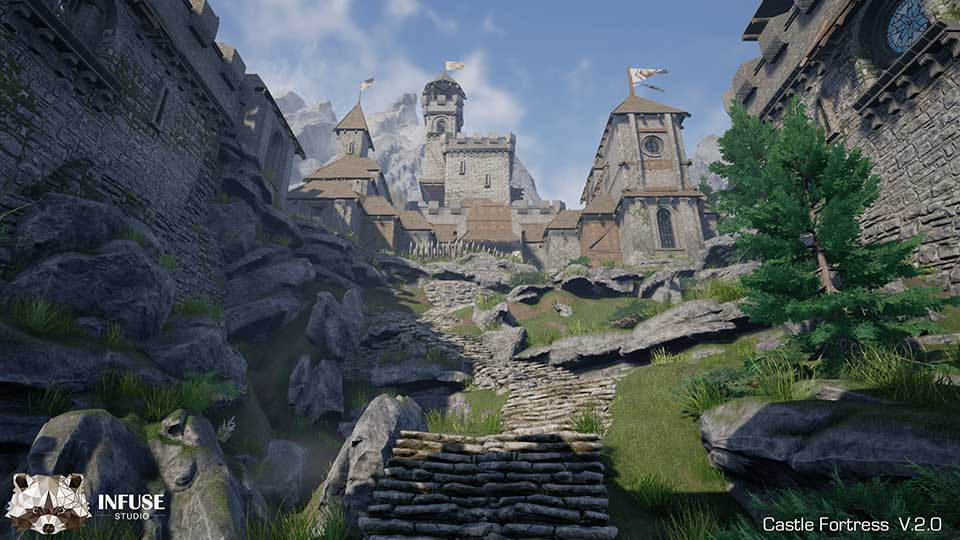 Agancg_UE4_Castle-Fortress02
