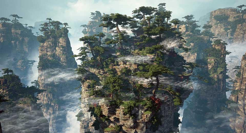 Agancg_UE4_Zhang-Jia-Jie-Mountain01