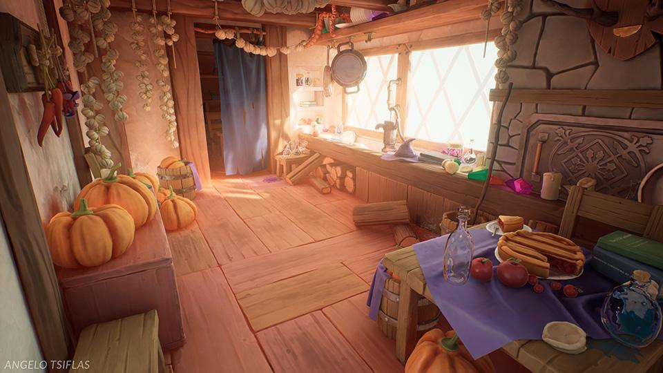 Agancg_UE4_Stylized-Witch-Hut-Interior00