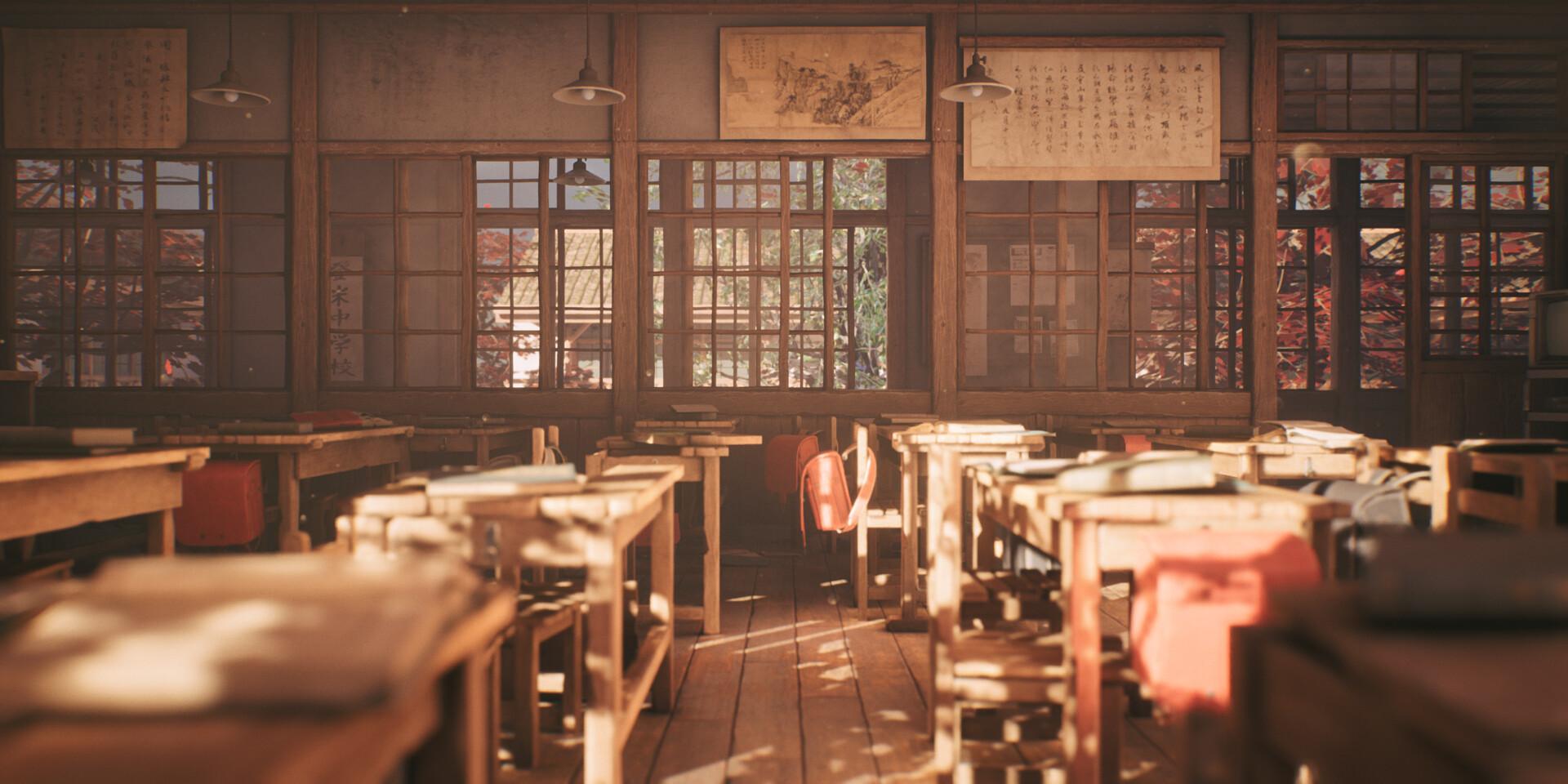 Agancg_UE4_tutorial_Old-Japanese-Classroom04