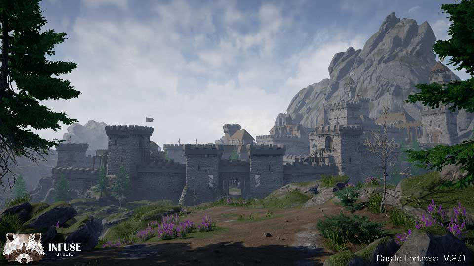 Agancg_UE4_Castle-Fortress01